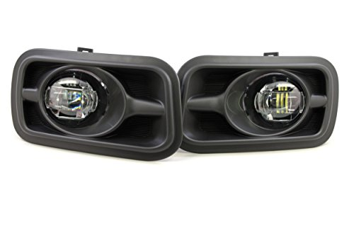 2010 2012 2013 2014 Dodge Ram 3500 Morimoto XB Type Ram Projector LED Fog Light replacement Clear Lens 5500K (2011 Ram 3500 Driving Lights)