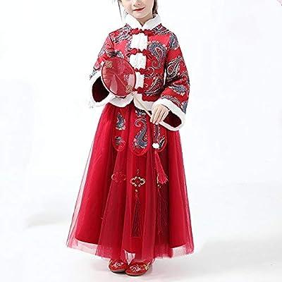 Owenqian Hanfu de los niños Estilo Chino Niño Disfraz de Invierno ...
