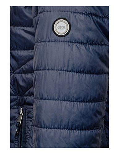 30128 Cecil Cappotto Blue Donna deep Blu f6OwXqF