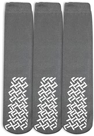 Nobles Assorted Anti Skid/No Slip Hospital Gripper Socks, Designed for Medical Hospital Patients but Great for Everyone