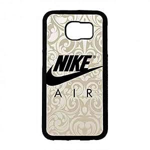 Famous Nike Logo Funda,Just Do It Nike Logo Samsung Galaxy S6 Case,Nike Funda Black Hard Plastic Case Cover For Samsung Galaxy S6