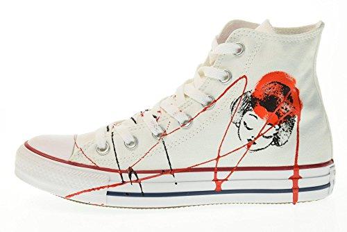 Japan Hi Taglia All 36 156920c Bianco Alta Canvas Star Unisex Converse Ltd Sneakers UqFffp