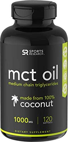 Vitamins & Supplements: Sports Research MCT Oil Softgels
