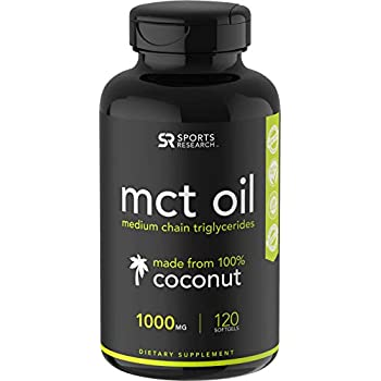 Keto MCT Oil Capsules derived from Coconut Oil | Keto Fuel for The Brain &  Body | Derived from