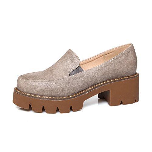 gris para mujer vestir Zapatos de Adee tXxfqay
