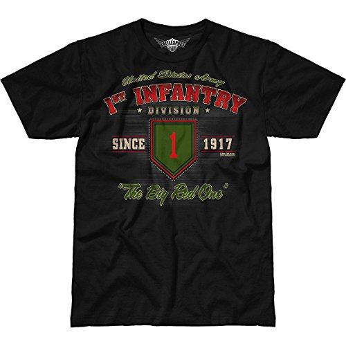 7.62 Design Army 1st Infantry Division 'Vintage' Men's Battlespace T-Shirt 2X