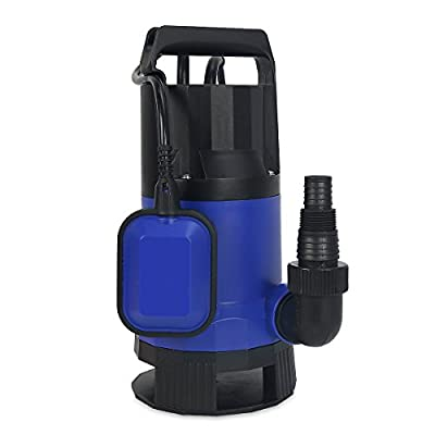 XtremepowerUS 2115GPH 1/2HP Clean/Dirty Water Submersible Sump Pump Swimming Pool Pond Flood Drain Water Transfer