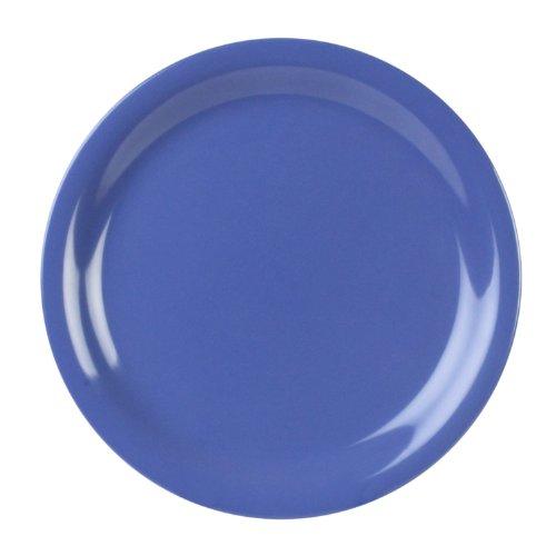 Global Goodwill Coleur Series 12-Pieces Narrow Rim Plate, 9-Inch, Coleur - Wide Melamine Plate Round Rim