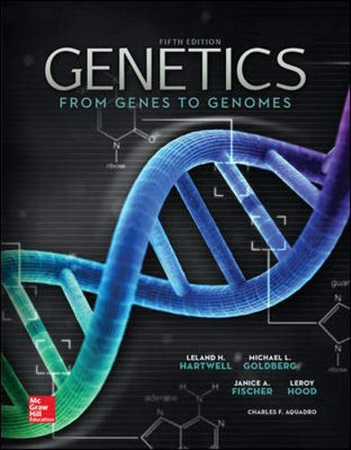 Genetics: From Genes to Genomes, 5th edition