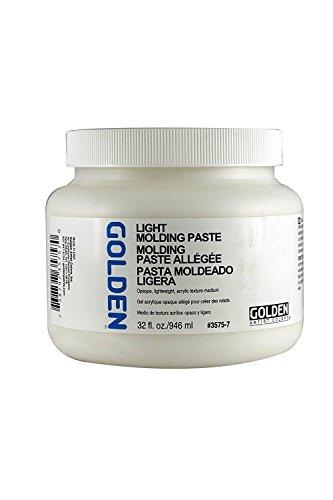 Golden Light Molding Paste - Golden Acryl Med 32 Oz Light Molding Paste