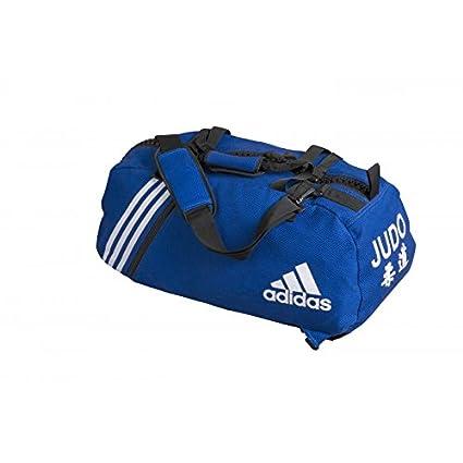 later coupon code superior quality Adidas - Sac de sport grain de riz bleu Judo