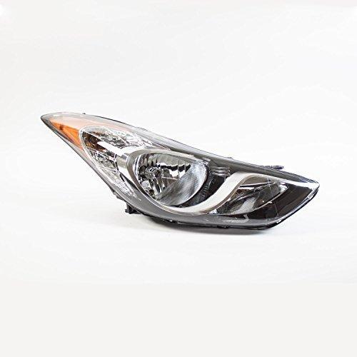 Hyundai Elantra Headlight Assembly (Hyundai Elantra 11-13 Headlight Assembly USA Built RH USA Passenger Side)