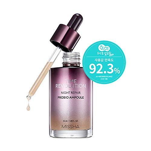 Night Essence - Missha Time Revolution Night Repair Probio Ampoule 50ml / 1.69 FL.OZ