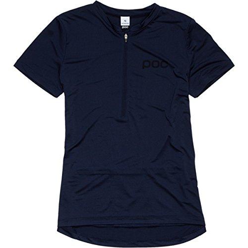 POC Trail Light Zip T-Shirt - Short Sleeve - Women's Boron Blue, XS