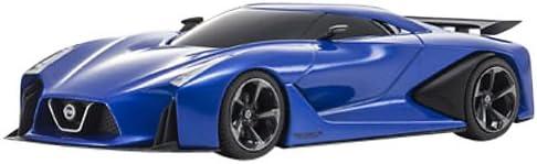 京商オリジナル 1/43 ニッサン コンセプト 2020 ビジョン GT ブルー 完成品