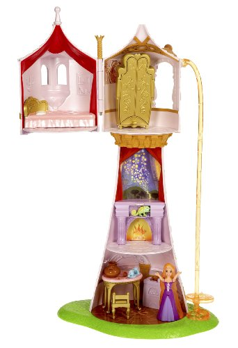 Disney Tangled Featuring Rapunzel Magical Tower Playset by Mattel