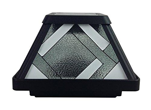 Tiffany Solar Lamp Post
