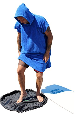 COR Surfing Changing Towel Robe With Hood /One Size Fits All /Great...
