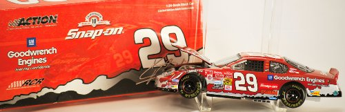 2003 - Action / NASCAR - Kevin Harvick #29 - Snap-On / GM Goodwrench - Chevrolet Monte Carlo Club Car Bank - #1200 of 1200 Produced - Very Rare - Limited Edition - Collectible - Goodwrench Engine