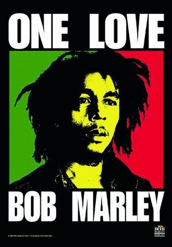 ICC Bob Marley One Love Poster 30x40 In, Bob Marley Dorm Decor,Bob Marley Poster Wall hanging , Christmas Decoration, Christmas Poster For Windows, Christmas gift, Psychedelic (Bob Marley One - Bob Hangings Marley Wall
