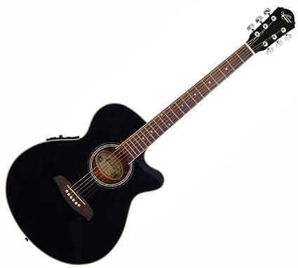 Nueva Oscar Schmidt og8ceb Shallow estilo folk acústica guitarra ...