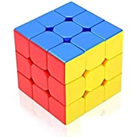 Prexxi Premium Stickerless - 3X3X3 Speed Cube, Multi Color