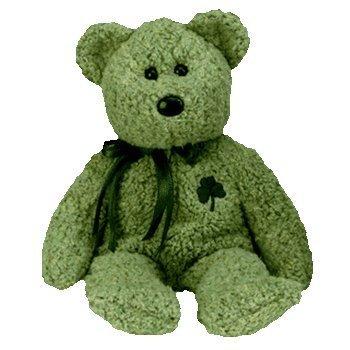 (Ty Beanie Babies - Shamrock the St Patricks Day Bear)