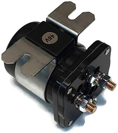 Ximoon 48V SOLENOID #586 Series Continuous Duty Solenoid for EZGO Cart//WHITE RODGERS 586-120111 Replacement EZGO 73231G01