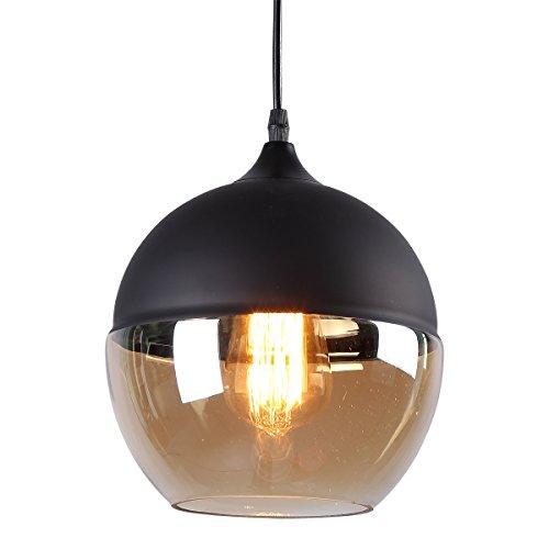 Black Sphere Pendant Light - 3