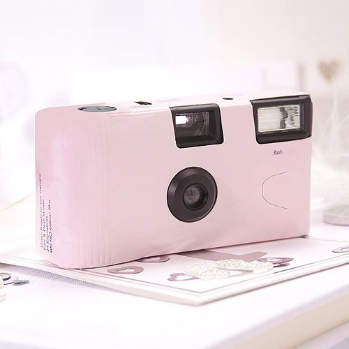 Price comparison product image Pastel Pink Single Use Camera Wedding Favor Party Favor