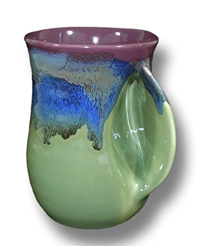 Clay in Motion Handwarmer Mug - Mossy Creek - Right Handed