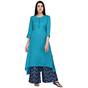 Pistaa's Women Regular Fit Palazzo