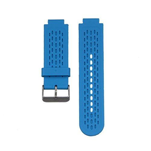 Malloom Soft reemplazo de la correa del silicón del reloj Band + agarraderas de adaptadores para Garmin vívoactive Smartwatch (naranja): Amazon.es: Deportes ...