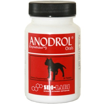 Anodrol -Test Booster, Energy, Endurance, Muscular Development (60 Capsules) -