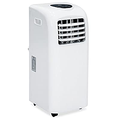 Best Choice Products 3-in-1 10,000 BTU Portable Air Conditioner Cooling Fan Dehumidifier w/LED Display, Remote Control