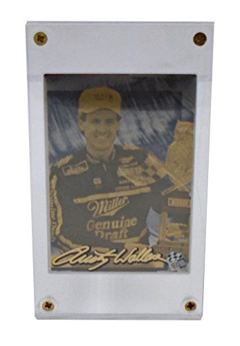 Authentic Images Rusty Wallace (NASCAR)- 24K Gold Collectible Card (Wallace Card Nascar Rusty)