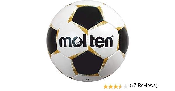 Molten PF-540 - Balón de fútbol, color blanco/dorado/negro, talla ...