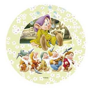 Disney Die Sieben Zwerge Tortenaufsatz 21 Cm Essbar Wafer Reis Ii