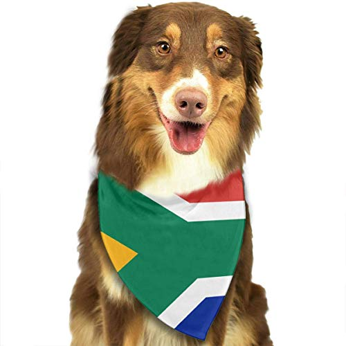 70's Costumes South Africa - LODRR Pet Scarf, Flag of South Africa Scarf Pet/Suit Dog Bandana Scarf