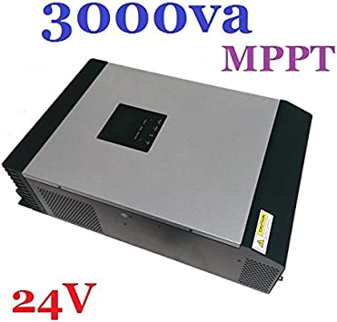 Inversor//Cargador Hibrido Onda Pura 3000VA 24V 220V