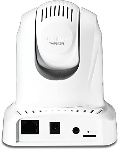 TRENDnet Megapixel PoE Pan, Tilt, Zoom Network Surveillance Camera with 2-Way Audio and Night Vision, TV-IP672PI (White) by TRENDnet (Image #1)