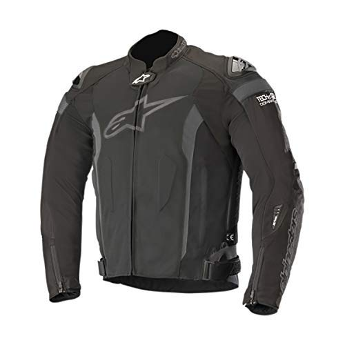 (T-Missile Air Textile Motorcycle Jacket for Tech-Air Race Airbag System (M, Black Black))
