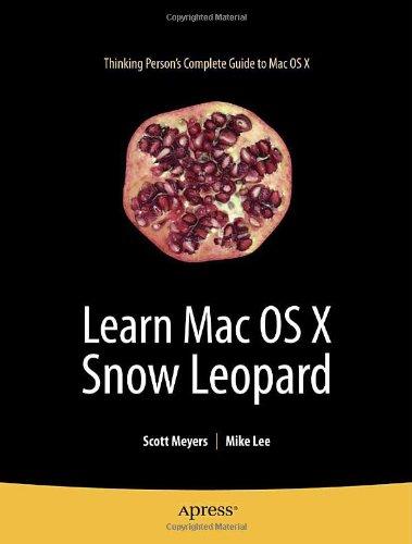 [PDF] Learn Mac OS X Snow Leopard Free Download | Publisher : Apress | Category : Computers & Internet | ISBN 10 : 1430219467 | ISBN 13 : 9781430219460