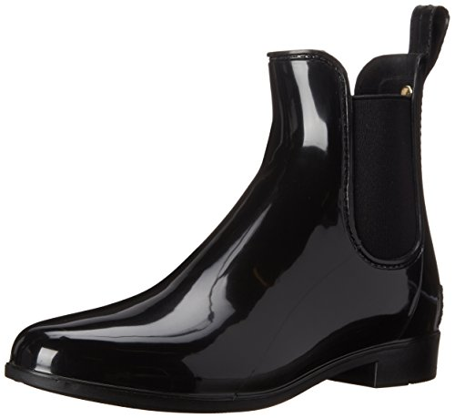 Sam Edelman Women's Tinsley Rain Boot, Black Polished, 10 M US