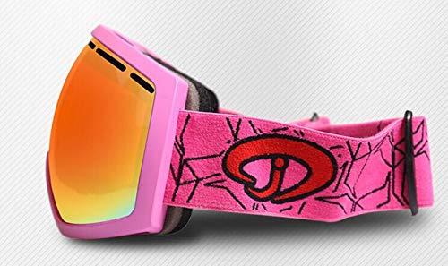 Daesar Hombre Unisex Seguridad Nieve Rosa De Deportivas Gafas Mujer Viento Protectoras SCqU7wCr