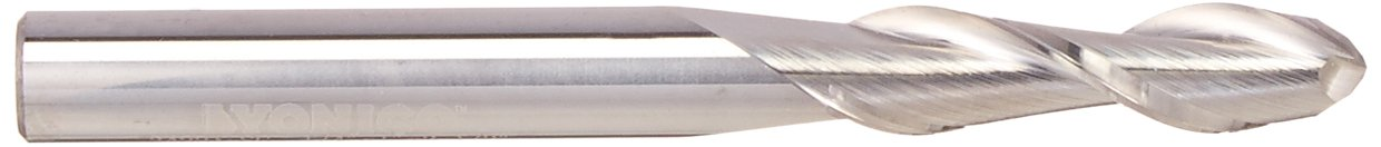 Yonico 34240-SC CNC Router Bit Ball Nose Solid Carbide with 1//2-Inch X 1-1//4-Inch X 1//2-Inch X 3-Inch 1//2-Inch Shank