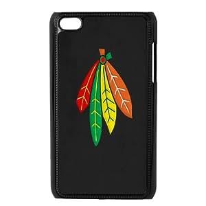 Ipod Touch 4 Phone Case Chicago Blackhawks Z8BH80375