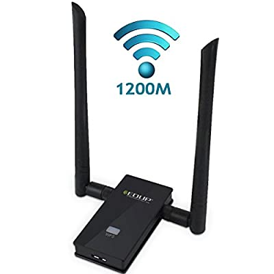 J-NET WIFI AC1200 Dual Band 3.0 wireless USB wifi adapter,For Device of Windows XP / Vista / 7 / 8 / 8.1 / 10 (32/64bits) MAC OS X 10.11.X / 10.10.X / 10.9.X / 10.8.X /10.7.X…