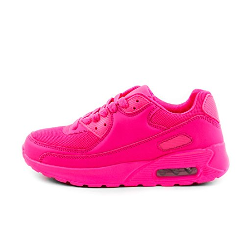 Turnschuhe Herren Sneaker Unisex Pink Schnür Laufschuhe Damen Fitness Sport zRxqWPZUwq