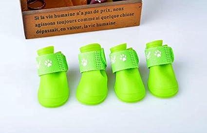 e58380bc10a1e Amazon.com : CoCocina Anti-Skid Boots Waterproof Dog Shoes ...